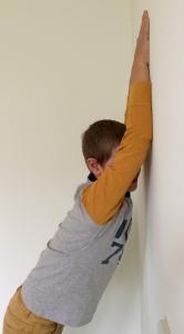 De invloed van primaire reflexen de Hand Steun Reflex_positie2